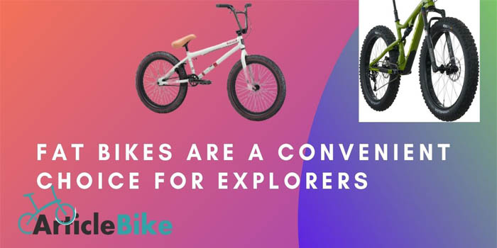 4 Reasons-Fat Bikes Are a Convenient Choice for Explorers