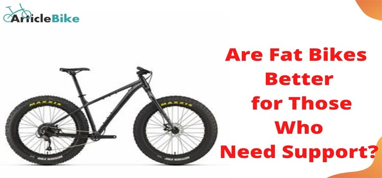 Are Fat Bikes Better for Those Wh