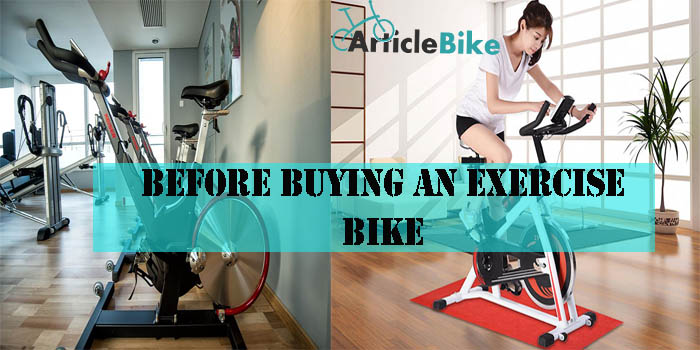 Before Buying an Exercise Bike