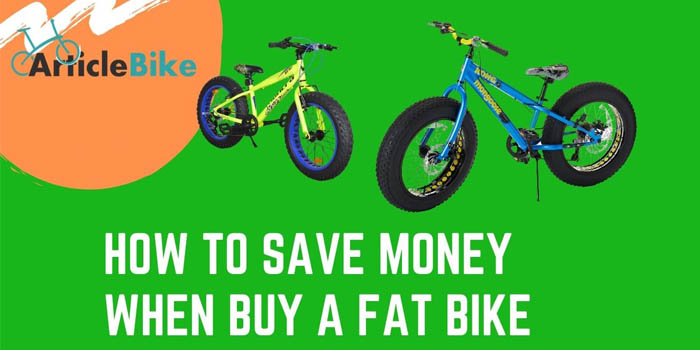 How To Save Money When Buy A Fat Bike