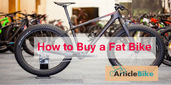 How to Buy a Fat Bike