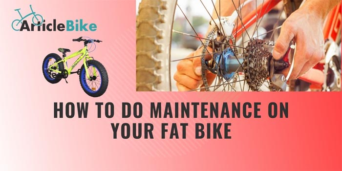 How to Do Maintenance on Your Fat Bike