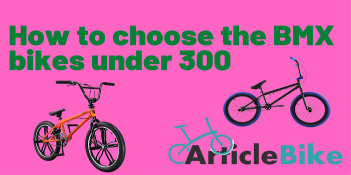 How to choose the BMX bikes under 300