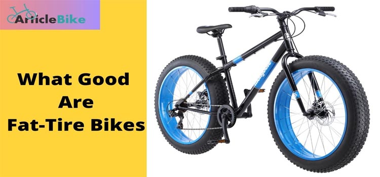 What Good Are Fat-Tire Bikes