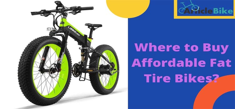 Where to Buy Affordable Fat Tire Bikes