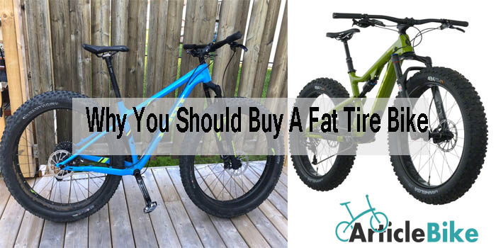 Why You Should Buy A Fat Tire Bike
