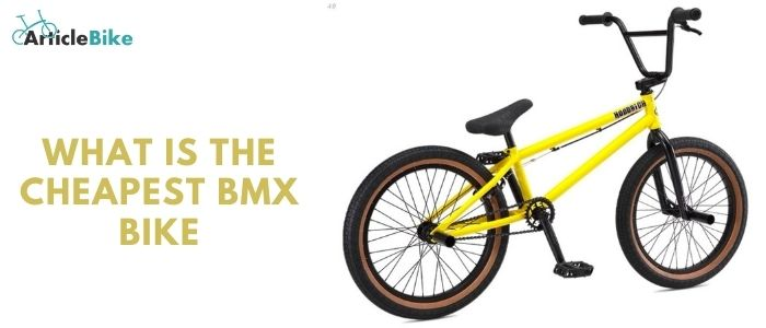What is the cheapest BMX bike